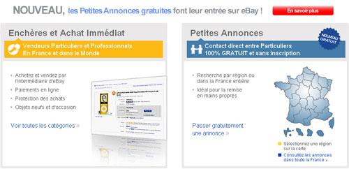 Ebay France Se Lance Dans Les Petites Annonces Gratuites
