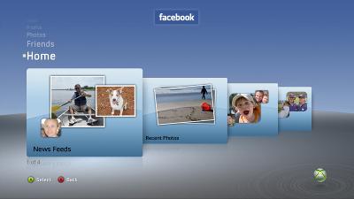 Facebook-xbox360