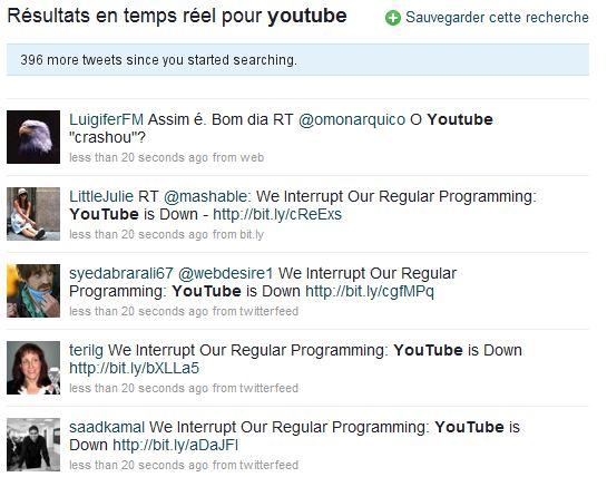 Twitter & Youtube