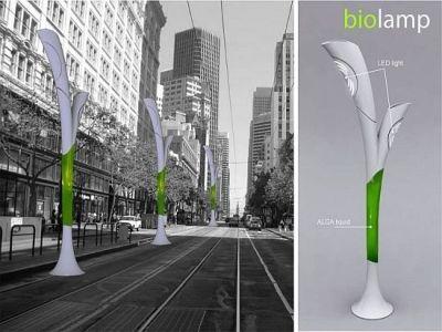 Concept Biolamp, par Peter Horvath